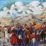 exodo jujeño - cuadro - museo lavalle