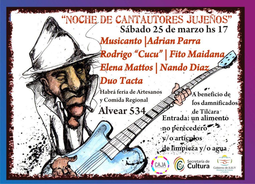NOCHE DE CANTAUTORES CAJA