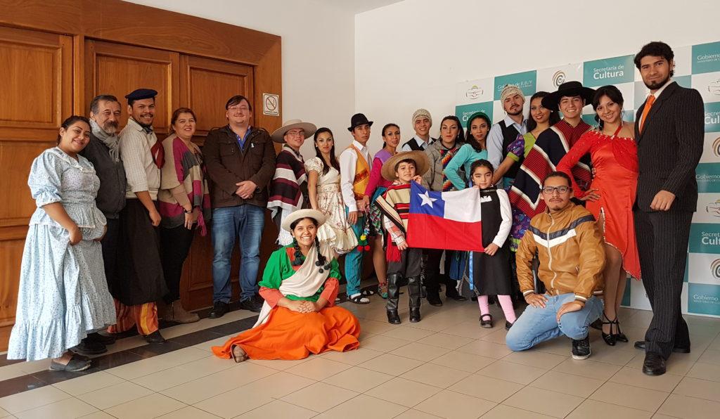 Autoridades Provinciales junto a Delegación Chilena