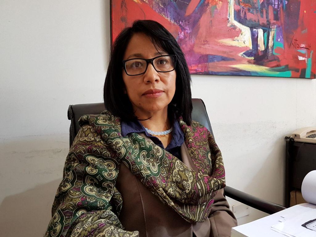 Rebeca Chambi sobre sobre Subasta Solidaria