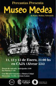 museo medea teatro enero en CAJA