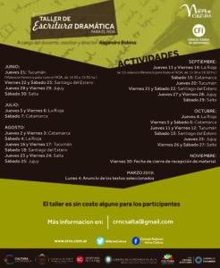 TALLER ESCRITURA DRAMATICA NOA2