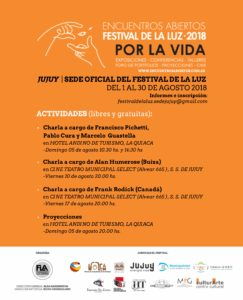 Festival de la Luz - Flyer Actividades - V Final