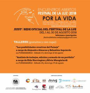 Festival de la Luz - Flyer Talleres - V Final