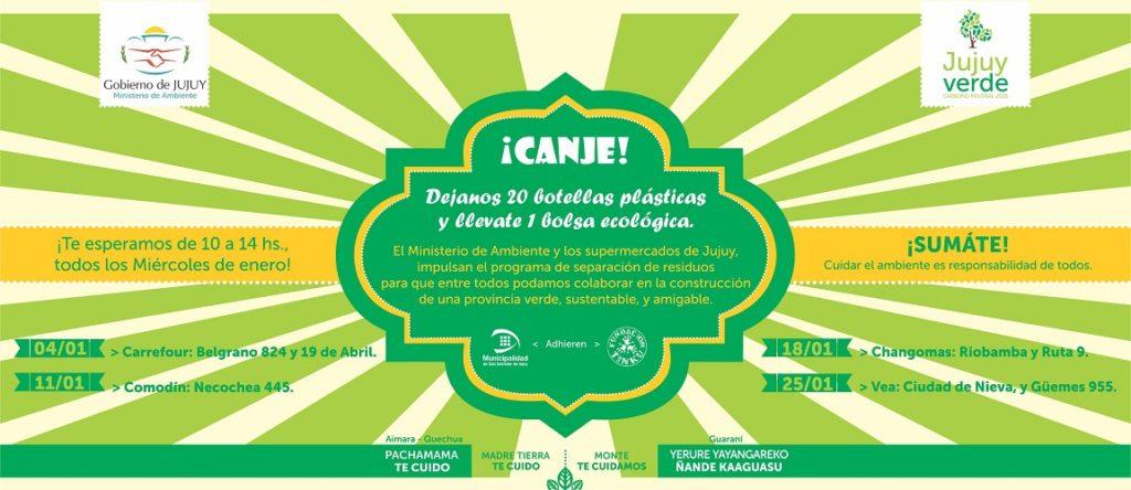 FLYER DE CAMPAÑA CON SUPERMERCADOS